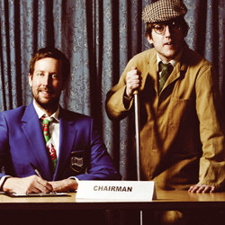 Chris Corcoran and Elis James - The Committee Meeting. Image shows from L to R: Chris Corcoran, Elis James.