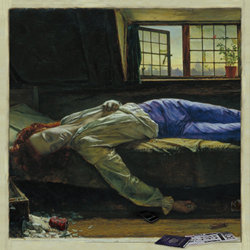 The Death of Chatterton. Copyright: BBC.
