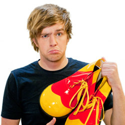 Iain Stirling: Happy To Be The Clown?. Iain Stirling.