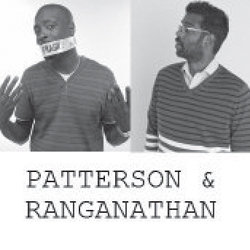 Patterson And Ranganathan. Image shows from L to R: Jason Patterson, Romesh Ranganathan.