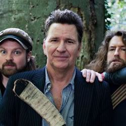 Return of the Lumberjacks (Back by Poplar Demand). Image shows from L to R: Glenn Wool, Stewart Francis, Craig Campbell.