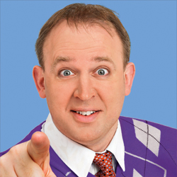 The Tim Vine Chat Show. Tim Vine. Copyright: Thames Television.