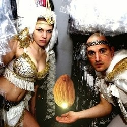 Almond Roca: The Lost Cabaret. Image shows from L to R: Zuma Puma, Adam Oliver.