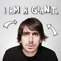 Darren Walsh: I Am A Giant. Darren Walsh.