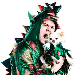 Piff the Magic Dragon & Mr Piffles. John Van Der Put. Copyright: BBC.