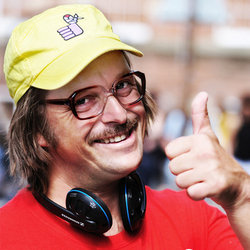 Tom Binns Does Ivan Brackenbury and Others. Tom Binns. Copyright: BBC.