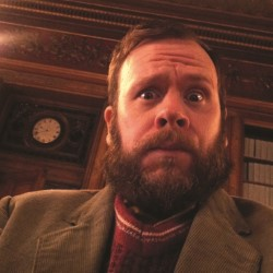 George Ryegold: Iron Face in a Velvet Beard. Toby Williams. Copyright: Avalon Television.