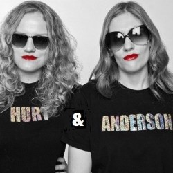 Hurt and Anderson: Bringing Sketchy Back. Image shows from L to R: Georgia Hurt, Laura Anderson. Copyright: ABsoLuTeLy Productions.