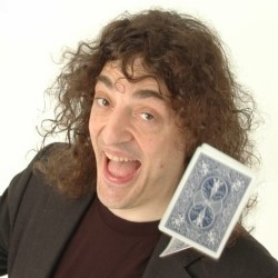Jerry Sadowitz: Card Tricks and Close-up Magic. Jerry Sadowitz. Copyright: BBC.