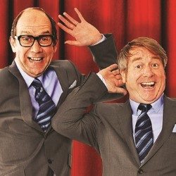 Eric And Little Ern. Image shows from L to R: Jonty Stephens, Ian Ashpitel. Copyright: BBC.