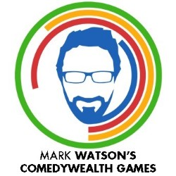 Mark Watson's Comedywealth Games. Mark Watson. Copyright: Unstoppable Entertainment.