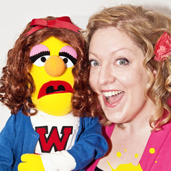 No Strings! An Improvised Comedy Musical... with Puppets!. Amy Cooke-Hodgson.