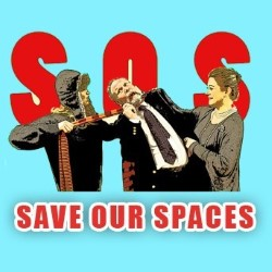 SOS - Save Our Spaces. Copyright: Dabster Productions.