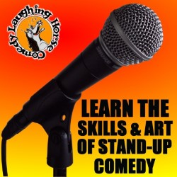About Comedy: Stand-Up Comedy Courses. Copyright: BBC.