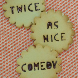 Twice as Nice Comedy @ Maggie's Chamber. Copyright: BBC.