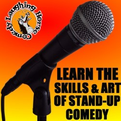 About Comedy: Stand-Up Comedy Courses. Copyright: CPL Productions.