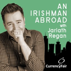 An Irishman Abroad (Live) Jarlath Regan Interviews Jason Byrne. Jarlath Regan. Copyright: Thames Television.
