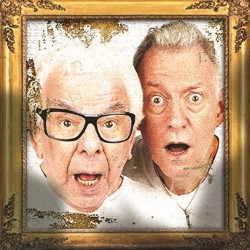 Barry Cryer and Ronnie Golden - Old Masters. Image shows from L to R: Barry Cryer, Ronnie Golden.