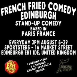 French Fried Comedy Edinburgh.