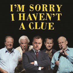 I'm Sorry I Haven't a Clue - The Official Stage Tour. Image shows from L to R: Tim Brooke-Taylor, Barry Cryer, Jack Dee, Jeremy Hardy, Graeme Garden.