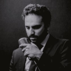 Nish Kumar: Long Word... Long Word... Blah Blah Blah... I'm so Clever. Nish Kumar. Copyright: Nit TV.