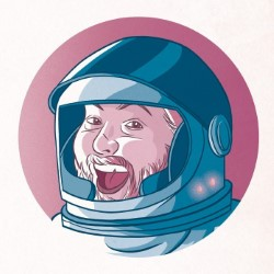 Tiernan Douieb: The World's Full of Idiots, Let's Live in Space.