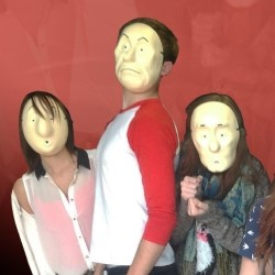 Comedy Sketch Show with Trestle Masks.
