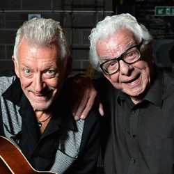 Barry Cryer and Ronnie Golden.