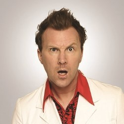 Jason Byrne is Propped Up. Jason Byrne.