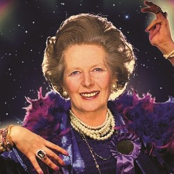Margaret Thatcher Queen of Game Shows.