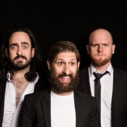 Aunty Donna: Big Boys. Image shows from L to R: Mark Bonanno, Broden Kelly, Zachary Ruane.