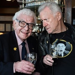 Barry Cryer and Ronnie Golden: Just the Two at Six. Image shows from L to R: Barry Cryer, Ronnie Golden.