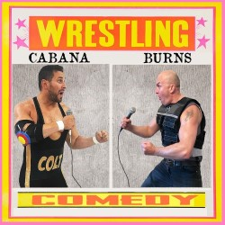 Brendon Burns and Colt Cabana Do Comedy and Commentary to Bad Wrestling Matches. Image shows from L to R: Colt Cabana, Brendon Burns.