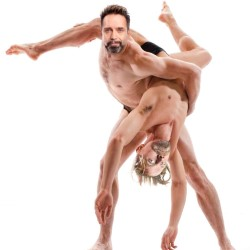 NightDanger: Dance Hard. Image shows from L to R: Phil Nichol, Tony Law.