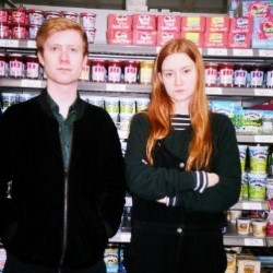 Big Shop. Image shows from L to R: John Tothill, Eve Delaney.
