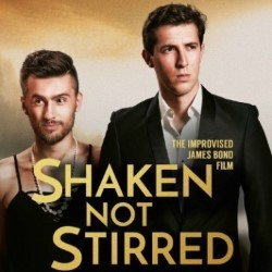 Shaken Not Stirred: The Improvised James Bond Film. Image shows from L to R: Dom O'Keefe, Alexander Fox.