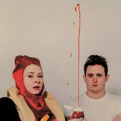 The Delightful Sausage: Regeneration Game. Image shows from L to R: Amy Gledhill, Chris Cantrill.