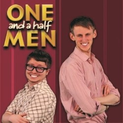 Tom and Ollie in: One and a Half Men. Image shows from L to R: Ollie Aston, Tom Gidman.