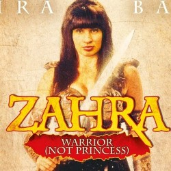 Zahra Barri is Zahra: Warrior Not Princess. Zahra Barri.