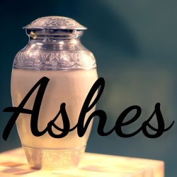 Ashes.