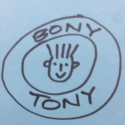 The Daft Show with Bony Tony. Bony Tony.