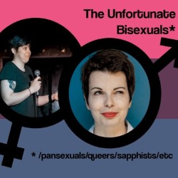 Cerys Bradley And Rachel Wheeley: The Unfortunate Bisexual. Image shows from L to R: Cerys Bradley, Rachel Wheeley.
