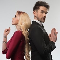 Colin Cloud: Sinful. Image shows from L to R: Colin Cloud, Chloé Crawford.
