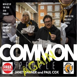 Common People (Again). Image shows from L to R: Janet Garner, Paul Cox.
