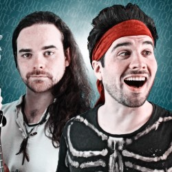 #Jollyboat: Bards Against Humanity (The Best of Jollyboat). Image shows from L to R: Ed Croft, Tommy Croft.