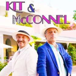 Kit and McConnel. Image shows from L to R: James McConnel, Kit Hesketh Harvey.
