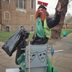 Lucky Maclean: Festival in the Bin - Walking Tour/Show. Lucky Maclean.
