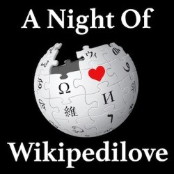 A Night Of Wikipedilove.