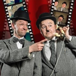The Laurel and Hardy Cabaret.