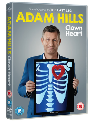 Clown Heart DVD. Adam Hills.